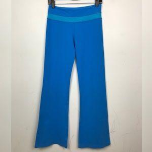 Lululemon Athletica | Blue Flare Legging Pant Yoga